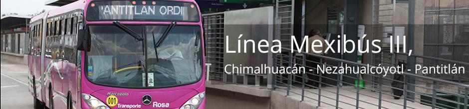 Línea Mexibús III